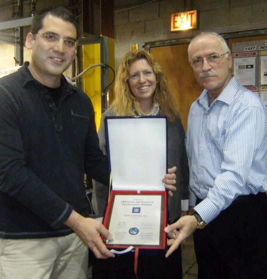 GM Award Presentation