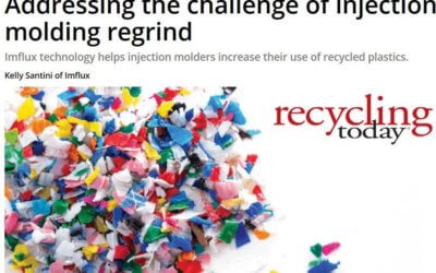 Recycling Today: AGS and iMFLUX Addressing Molding Challenges of Regrind